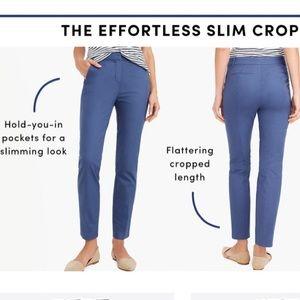 J. Crew Slim Crop Chino Pant